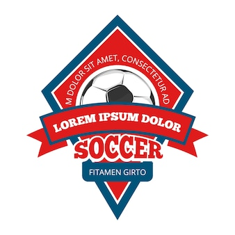 Vector logo di calcio