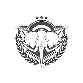 Vector logo stile vintage