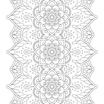 Vector mandala sfondo