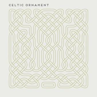 Vector ornamento celtico