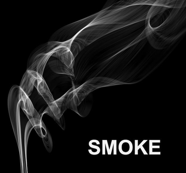 Vector sfondo di fumo.