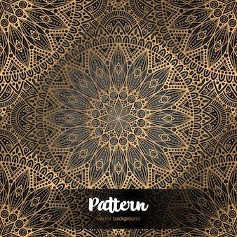 Vector sfondo islamico con mandala