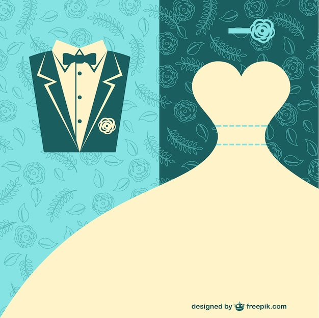 Vector wedding arte