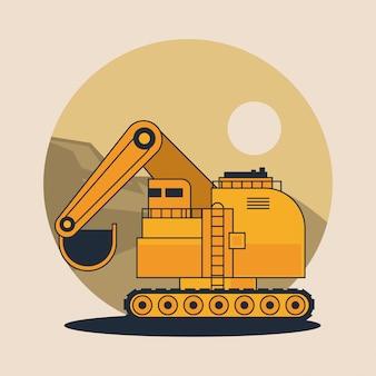 Veicolo dell'escavatore idraulico