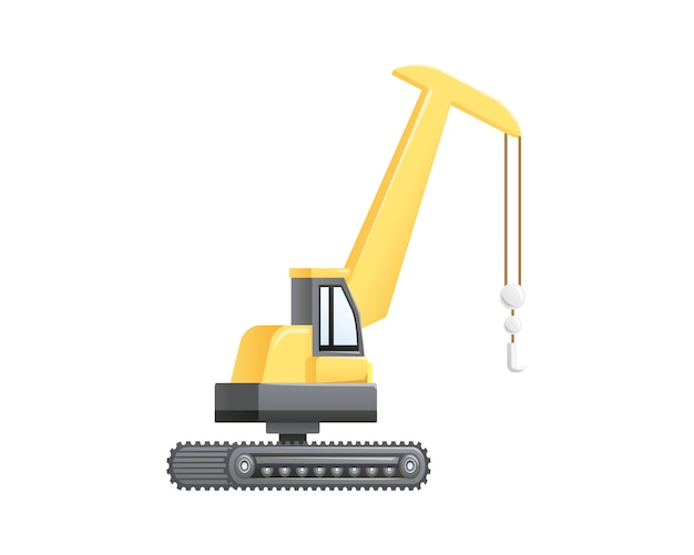 Veicolo di sollevamento della gru di costruzione