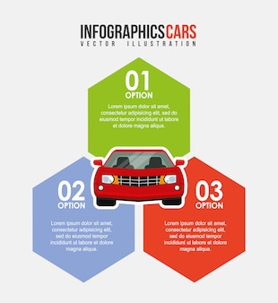 Veicolo infografica