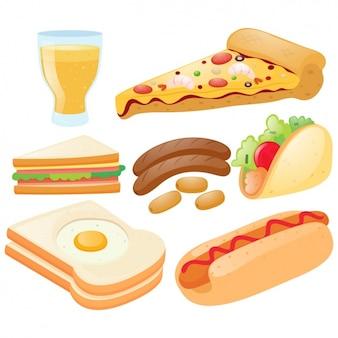 Veloce elementi alimentari collezione