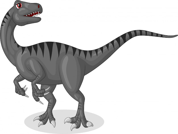 Velociraptor cartoon