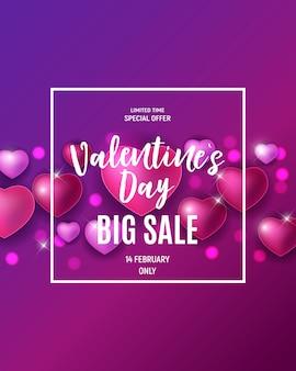 Vendita di amore e sentimenti per san valentino.