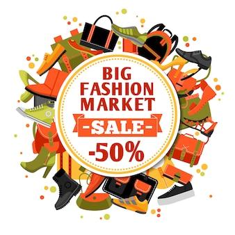 Vendita di calzature di moda
