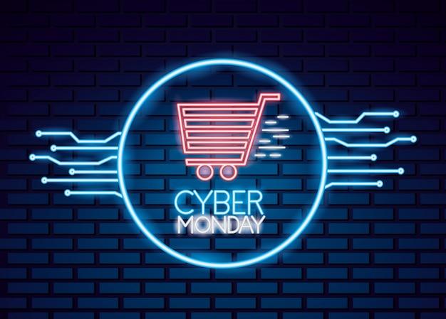 Vendita di cyber lunedì