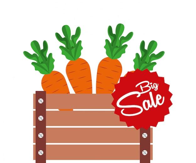 Vendita di prodotti agricoli