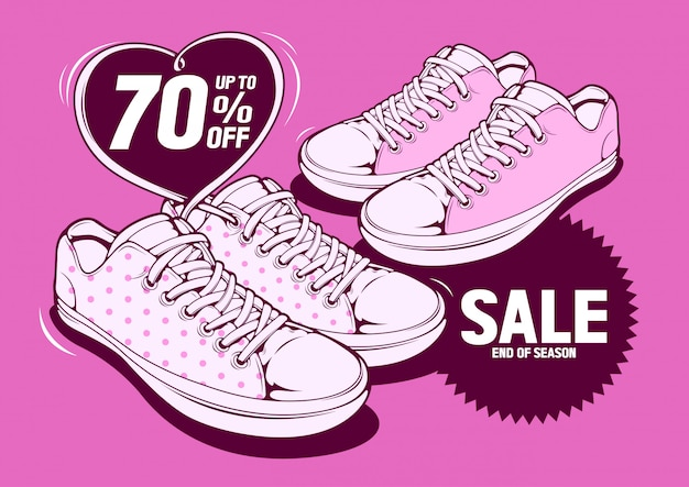 Vendita di scarpe
