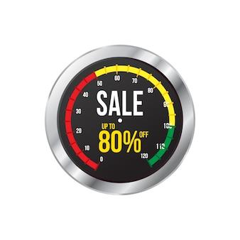 Vendita e tag offerta speciale, cartellini dei prezzi, etichette di vendita, illustrazione vettoriale.