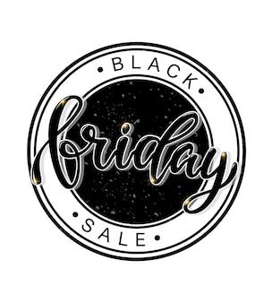 Vendita venerdì nero stampabile per poster