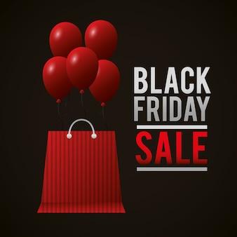 Vendite dello shopping del venerdì nero