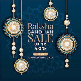 Vendite realistiche di raksha bandhan