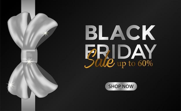 Venerdì nero in vendita offerta di promozione aziendale o di marketing