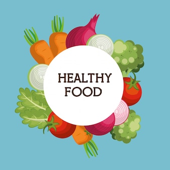 Verdure fresche cibo sano