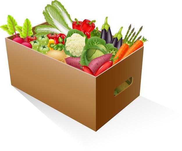 Verdure fresche e biologiche