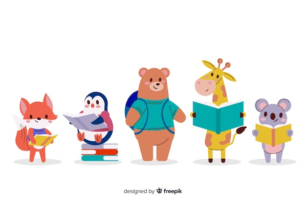 Versione animale per giovani adulti per il liceo