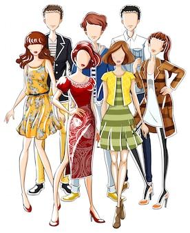 Vestiti di moda