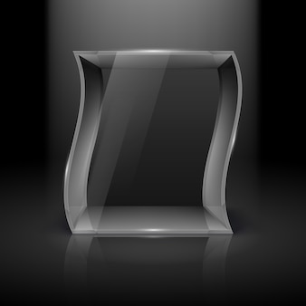 Vetrina di vetro