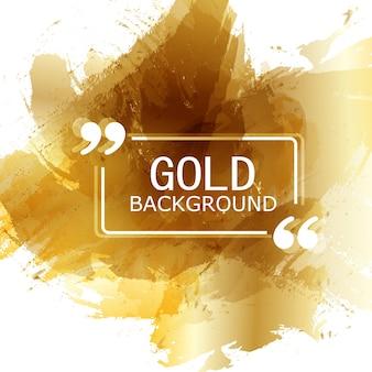 Vettore bella oro in raso