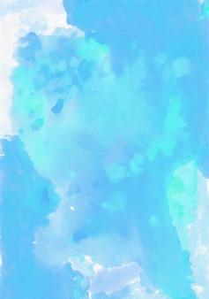 Vettore blu della priorità bassa dell'acquerello