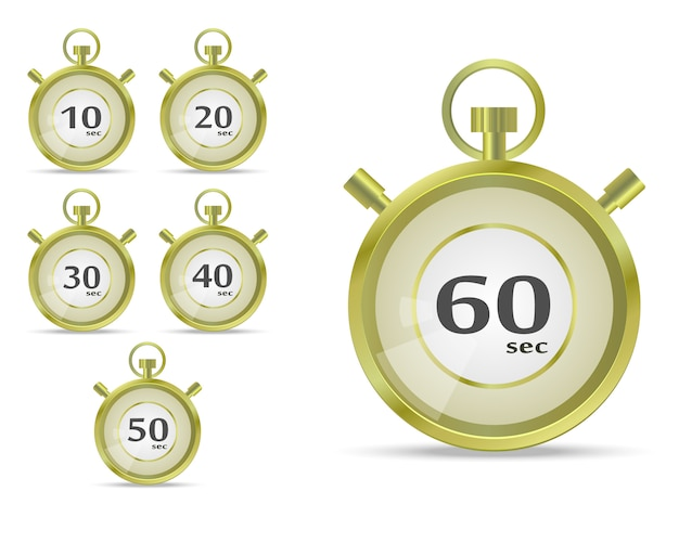 Vettore cronometro