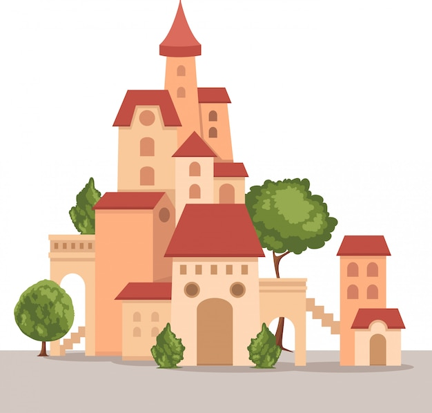 Vettore del castello