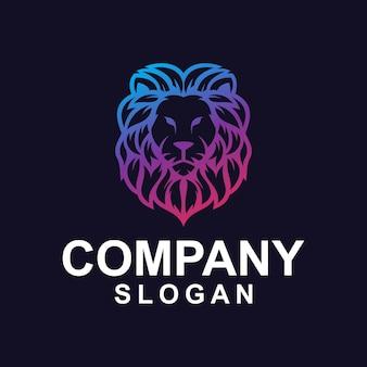 Vettore del logo lion