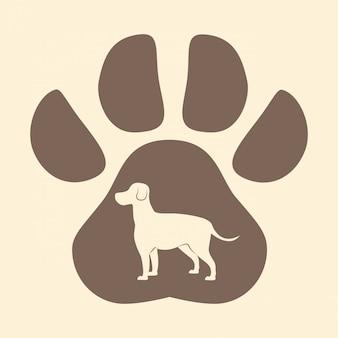 Vettore dell'animale domestico