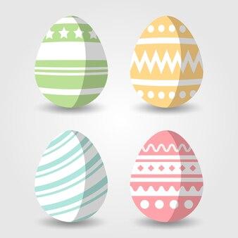 Vettore dell'illustrazione dell'uovo di pasqua