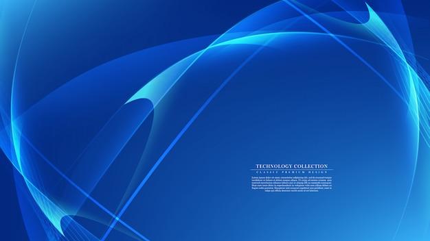 Vettore dello spazio della copia del modello del fondo del collegamento di tecnologia