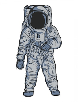 Vettore di astronauta