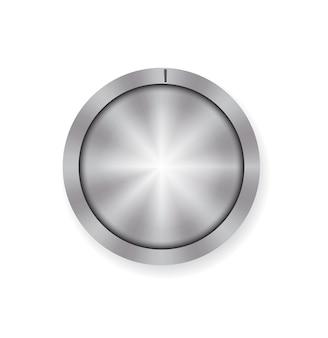 Vettore di controllo del pulsante del volume di metallo