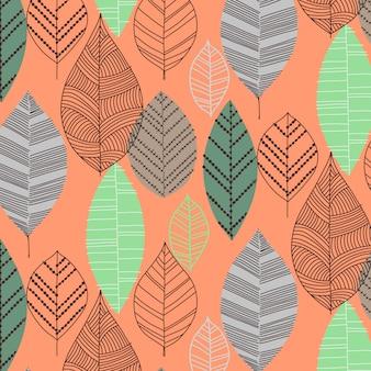 Vettore di design pattern alla moda