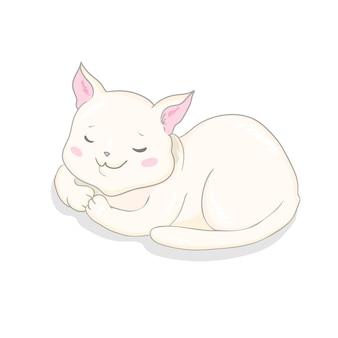 Vettore di gatto carino