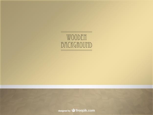 Vettore di legno spazio 3d design realistico