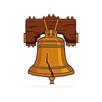 Vettore di liberty bell