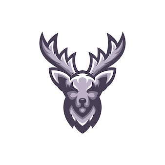 Vettore di logo dei cervi