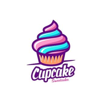 Vettore di logo di torta