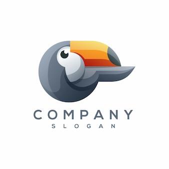 Vettore di logo tucano