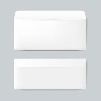 Vettore di mockup di progettazione busta di carta