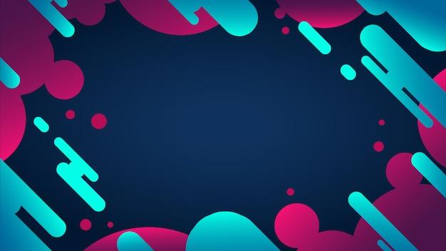 Vettore di sfondo astratto colorato