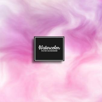 Vettore di sfondo colorato acquerello astratto