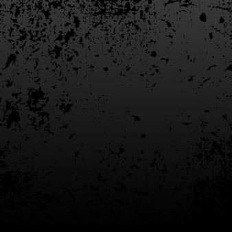 Vettore di struttura afflitto grunge nero