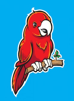 Vettore di uccello carino