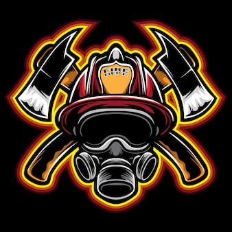 Vettore di vigile del fuoco